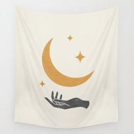 Moonlight Hand 1 Wall Tapestry