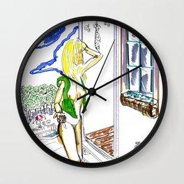 Pool Time Wall Clock