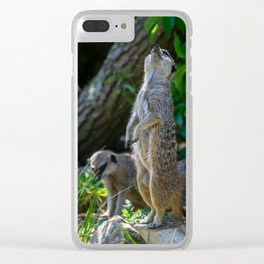 Standing Proud. Clear iPhone Case