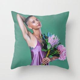 Feminist Recline Throw Pillow