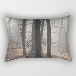 Winter Sunrays Rectangular Pillow