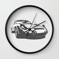 porsche Wall Clocks featuring Porsche 356 by Remove Before . . .