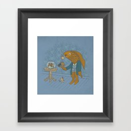 Big Eyed Fish Framed Art Print