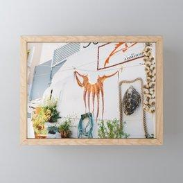 Hanging Out Framed Mini Art Print