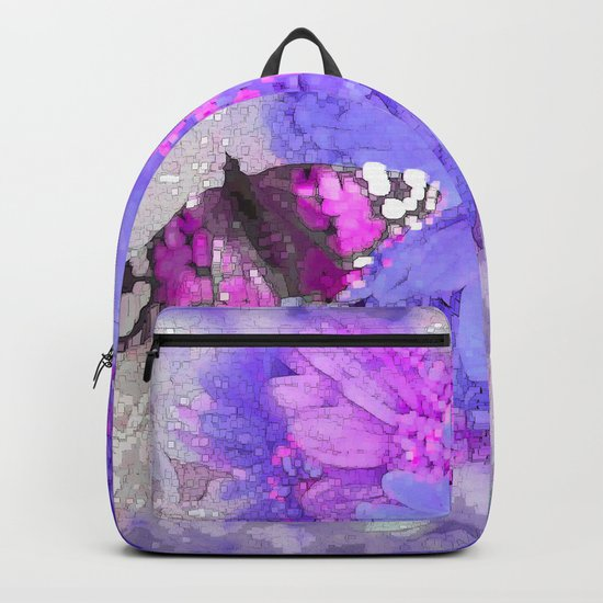 Daisy and Butterfly Backpack