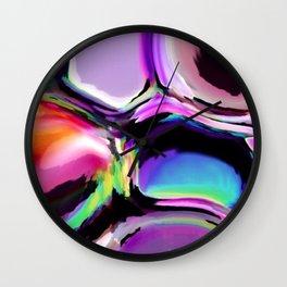 Color I Wall Clock