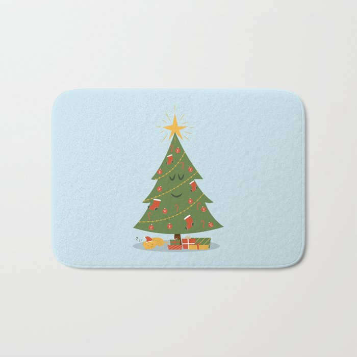 The Tree and the Cat Bath Mat