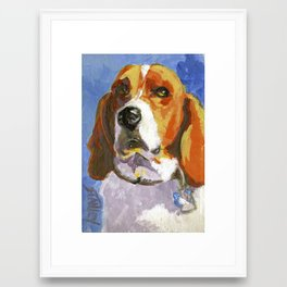 Whadaryoulookinat? Framed Art Print