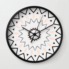 PD Star No.1 Wall Clock