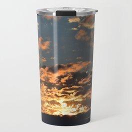 Firey Sunset Travel Mug
