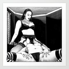 asc 976 - Le boudoir (Close quarters) Art Print