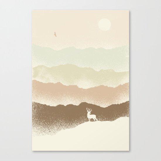 Quietude (II) Canvas Print