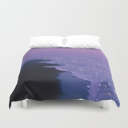 Purple magic Duvet Cover