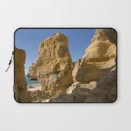 Albufeira cliffs Laptop Sleeve