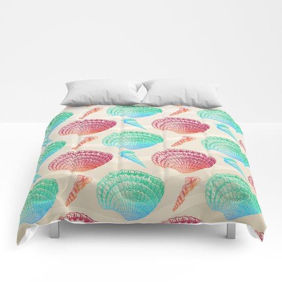 Marine Pattern 07 Comforters