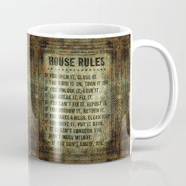 House Rules Coffee Mug
