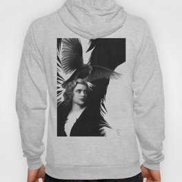 Lady and the Raven Hoody
