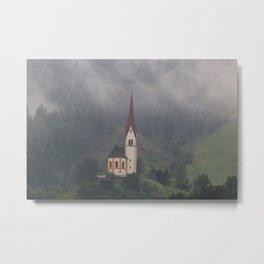 The Austrian Alps Metal Print