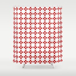 Maltese cross 2 Shower Curtain