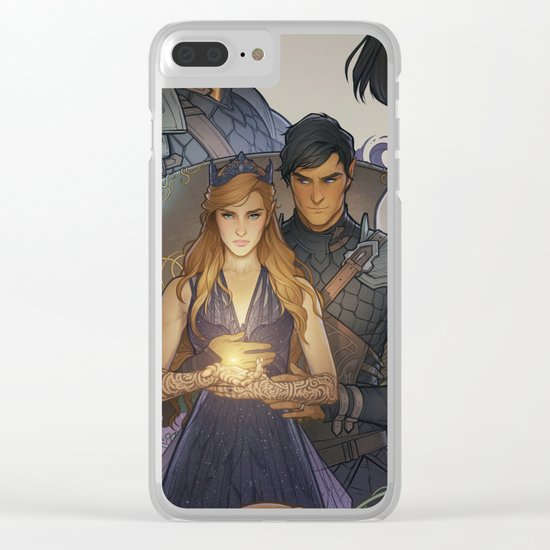 Wings and Ruin Clear iPhone Case