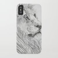 leon iPhone & iPod Cases featuring Leon by Amy Lawlor Creations