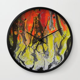 Nightmare Vision 2 Wall Clock