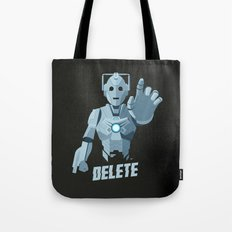 Nightmare in Silver (Cyberman) Tote Bag