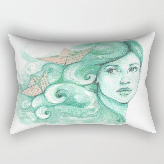 Paper ships Rectangular Pillow