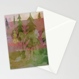 Forest Watercolor Stationery Cards