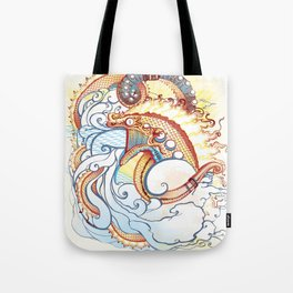 Where do clouds come from? Tote Bag