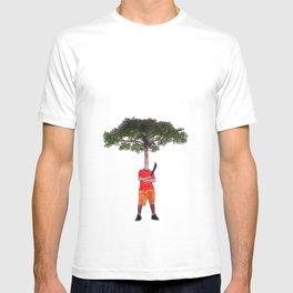 Warrior tree T-shirt