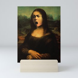 Caravaggio's Mona Lisa Mini Art Print
