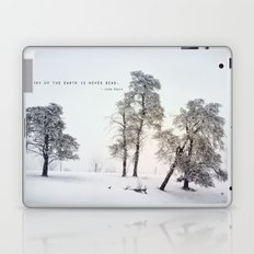 The Poetry of The Earth Laptop & iPad Skin