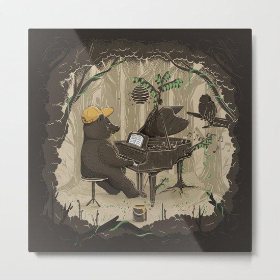 Forestal Sounds Metal Print