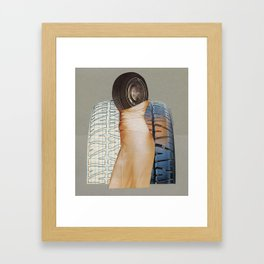 A Formal Tire Framed Art Print