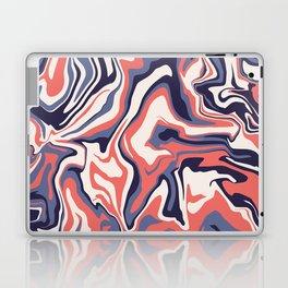 Retro liquid marble Laptop & iPad Skin