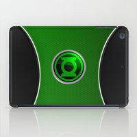 green lantern iPad Cases featuring Green Lantern by Thorin