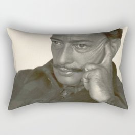 Salvador Dali old photo Rectangular Pillow