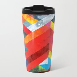Geometrics One Metal Travel Mug