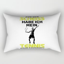 Funny Tennis Tennis Player Gift Rectangular Pillow