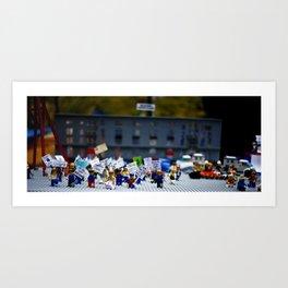 LEGO LAND Art Print