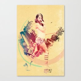 Summer Skating Jam Canvas Print