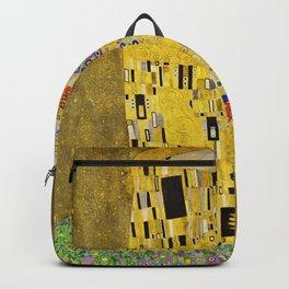 Gustav Klimt - The Kiss 1908 Backpack