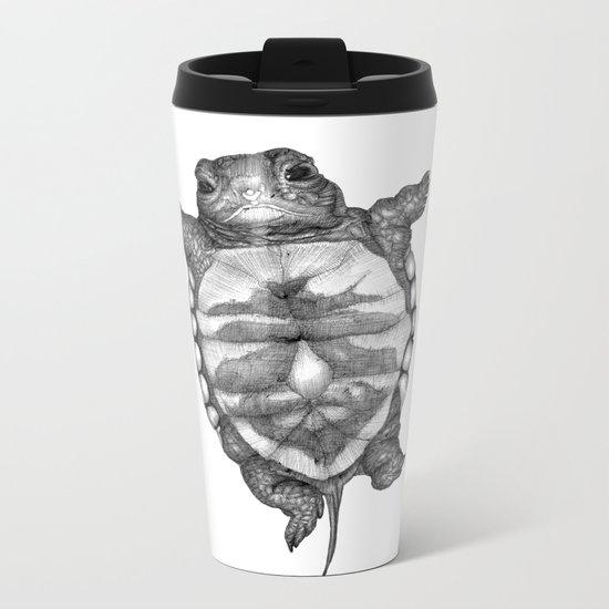 Little Turtle Metal Travel Mug