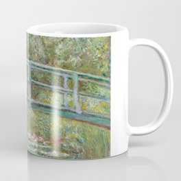 Monet, Water Lilies and Japanese Bridge, 1854 Coffee Mug