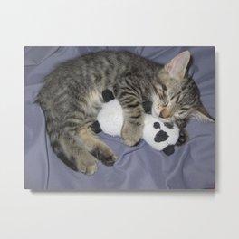 Monroe Kitten Metal Print