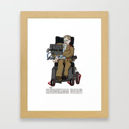 The Hawking Dead Framed Art Print
