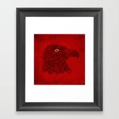 Red Eagle Framed Art Print