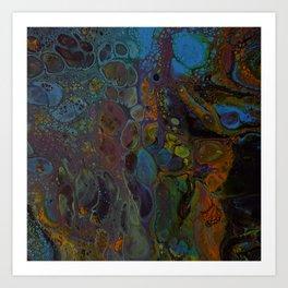 005 - Oil slick Art Print