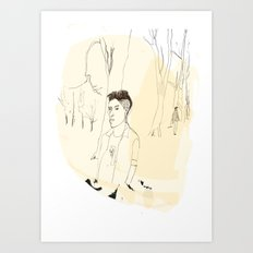 Young Londoner Art Print